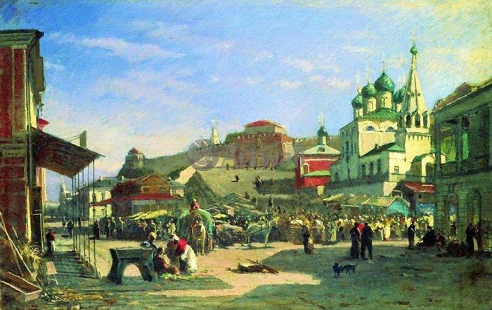 Московские князья последовательно завоёвывали соседей. Например, взяли Нижний Новгород.